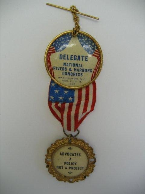 3016: National Rivers & Harbors Congress Medal