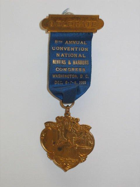 3017: National Rivers & Harbors Congress Medal