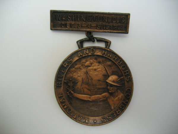 3018: National Rivers & Harbors Congress Medal