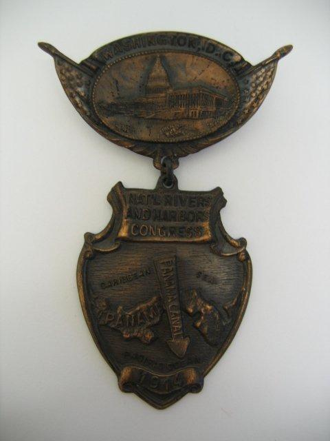 3019: National Rivers & Harbors Congress Medal