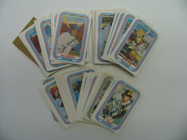 4002: 1976 Kellogg's 3-D Baseball Super Stars Set