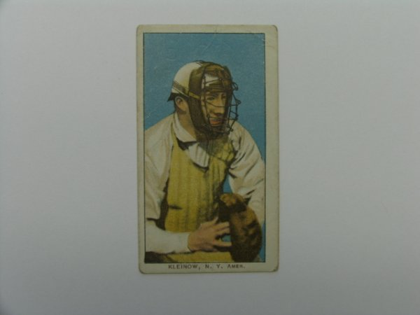 4004: Red Kleinow 1909 T206 Tobacco Card