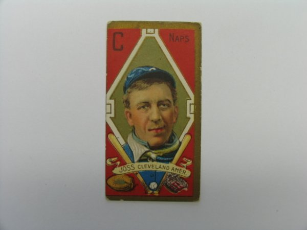 4006: Addie Joss 1911 T205 Gold Border Tobacco Card