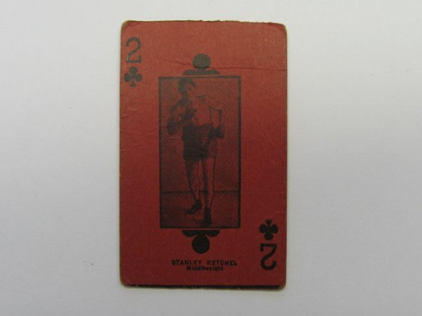 4016: Stanley Ketchel, Middleweight Boxing Card c. 1908