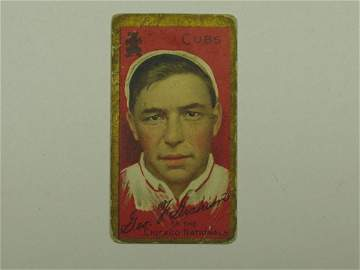 4216: Peaches Graham 1911 T205 Tobacco Card