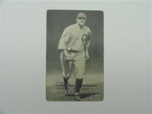 4401 Charles Jamieson Indians 1920s Baseball Card