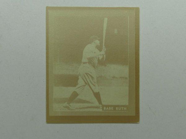 4571: Babe Ruth 1931 Ray-O-Print Baseball Card