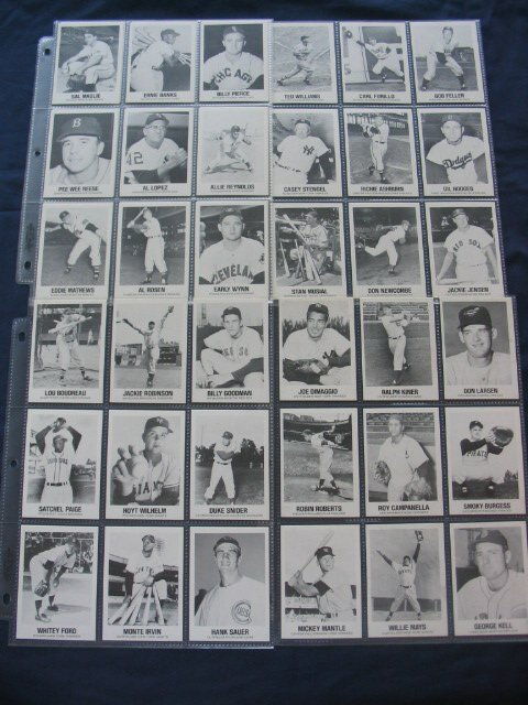 1023: 1977 TCMA All-Time Greats Cards #1 thru #45 DiMag