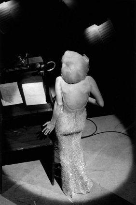 Bill Ray Signed: Marilyn Monroe 'sings Happy Birthday.