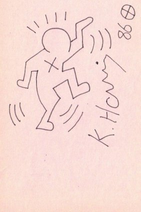 Keith Haring: Egyptian Man.