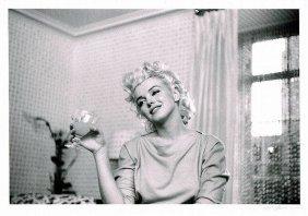 Marilyn Monroe Quiet Moment Silver Gelatin Getty