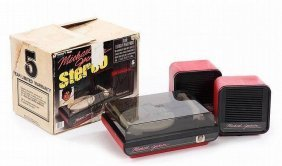 Michael Jackson Signed Stereo And Box.