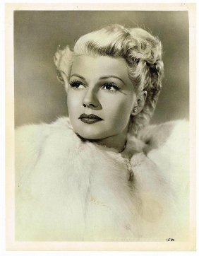 Rita Hayworth Vintage 1947 Still: Lady From Shanghai.