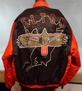 Elton John's Previously Owned Japanese Baseball Jacket.