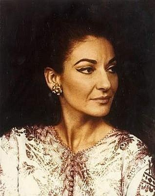 MARIA CALLAS: A STRAND OF HER HAIR.