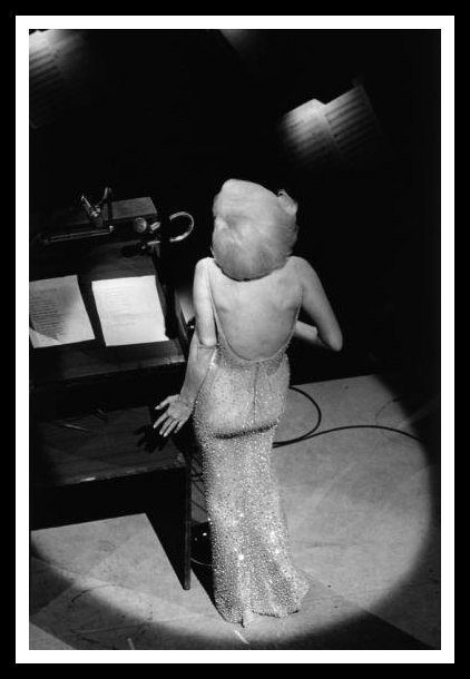 BILL RAY: MARILYN MONROE SINGING TO JFK.