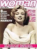 MARILYN MONROE WOMAN MAGAZINE AUGUST 6TH 1988.