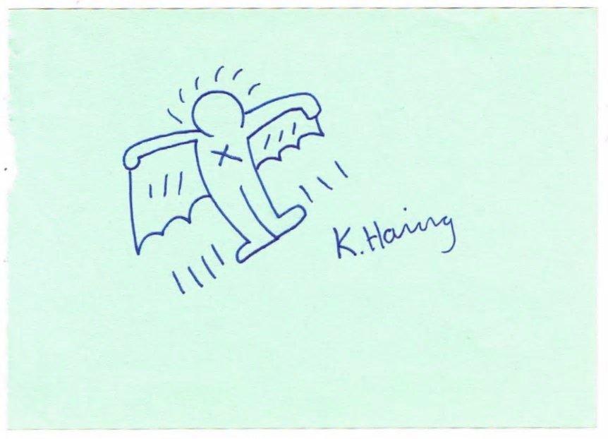 KEITH HARING: FLYING DEVIL.