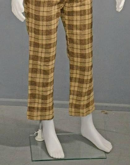 DEAN MARTIN'S OWNED AND WORN OXFORD TROUSERS.