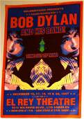BOB DYLAN TIME OUT OF MIND POSTER FOR LOS ANGELES