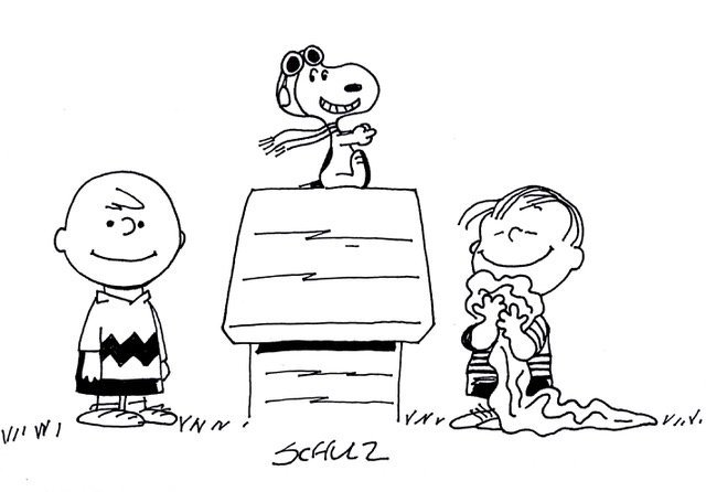 CHARLES SCHULZ: SNOOPY AND FRIENDS.