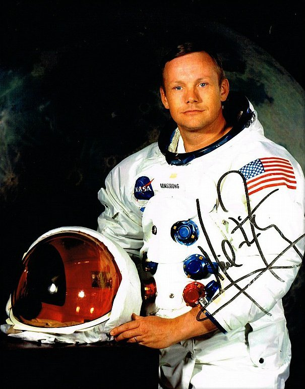 NEIL ARMSTRONG SIGNED.