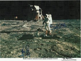 ARMSTRONG/ALDRIN/COLLINS SIGNED.