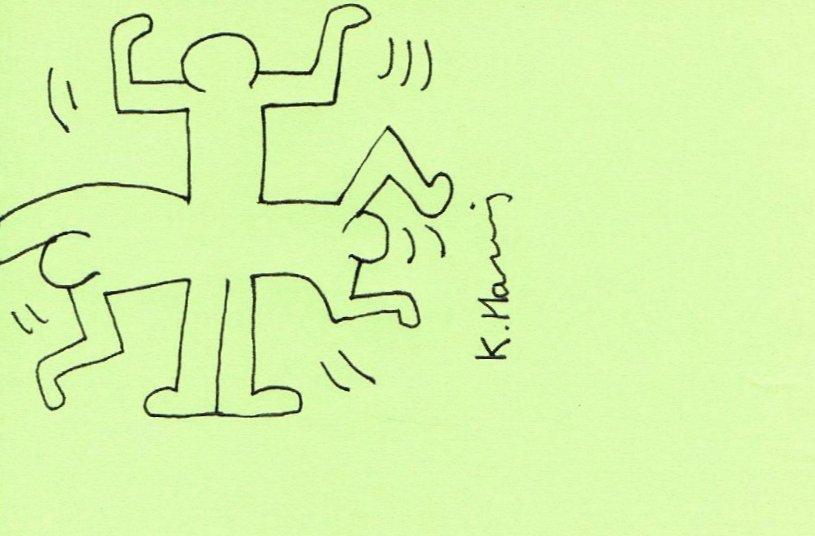 KEITH HARING: MAN WITHIN MAN.
