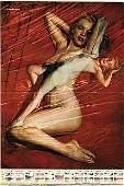 MARILYN MONROE ESCAPADE DEC 1956 NUDE CALENDAR MAGAZINE