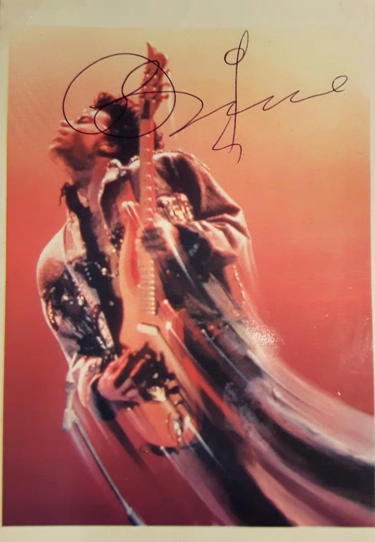 PRINCE SIGNED.