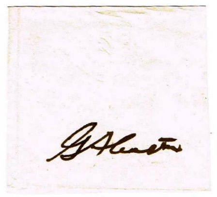 GENERAL GEORGE CLUSTER SIGNED.