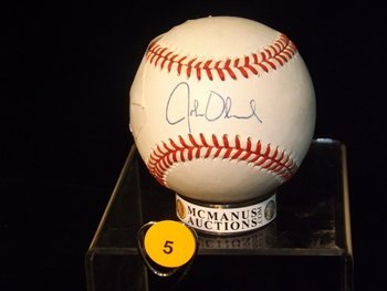 John Olerud Autographed Baseball.  Rawlings Official