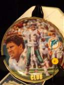 Lot of 3 collectors plates including Dan Marino