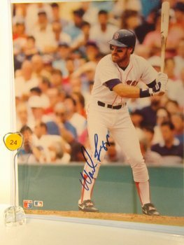 Wade Boggs Autographed Photo.  8x10 Color Photo.