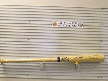 Stan Musial Autographed Baseball Bat.  Rawlings Big