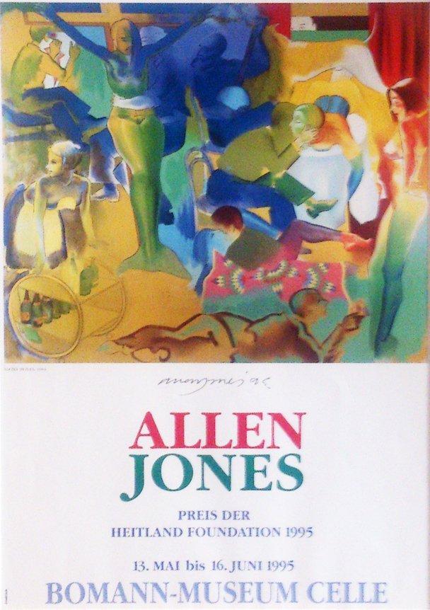 Allen Jones: Night Moves, Hand signed Print