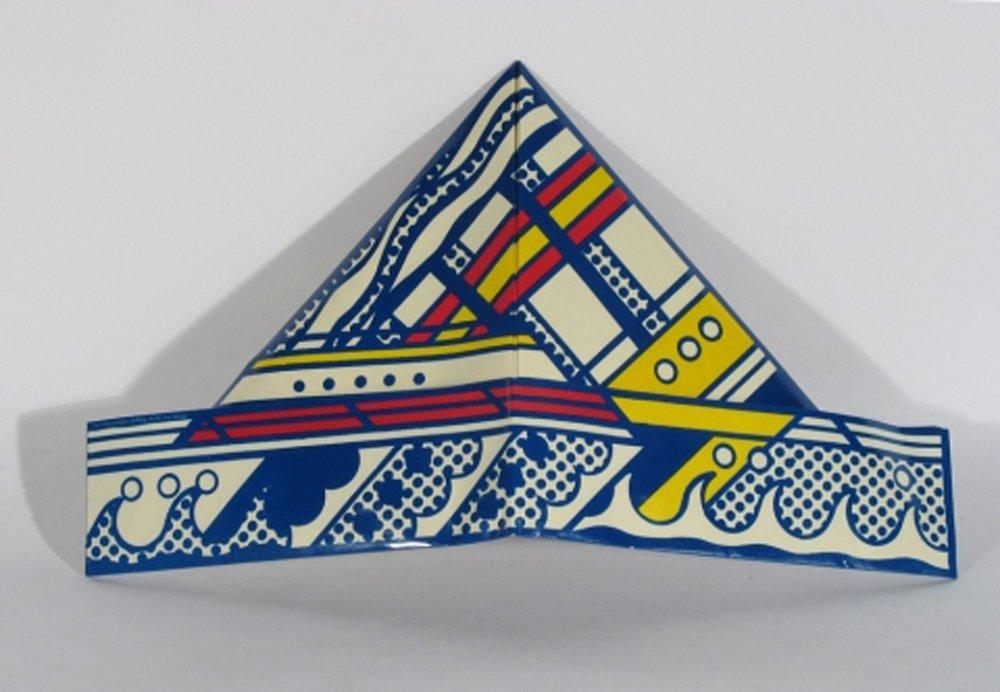 Roy Lichtenstein: Folded Hat (SMS) (1968)