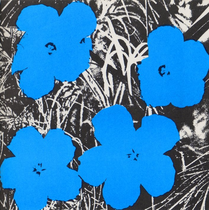 Andy Warhol: Sonnabend Flowers Invite 1965