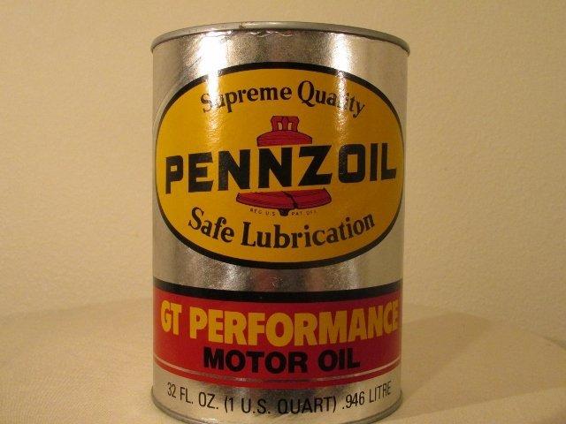 Pennzoil Oil Can Bank
