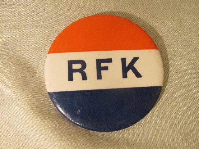 RFK Political Button    Robert F Kennedy