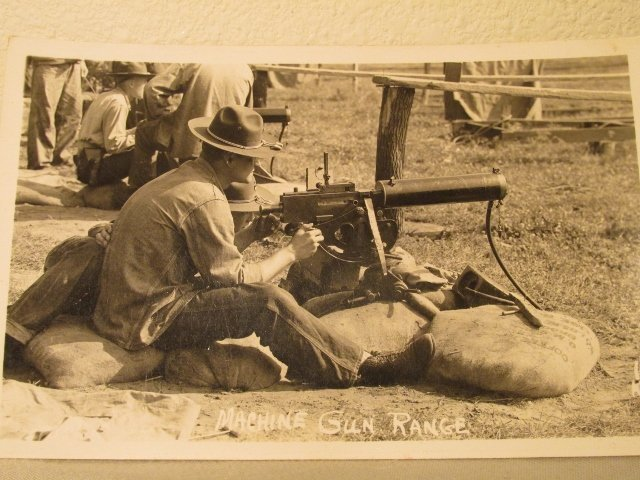 Browning M1917A1  Post Card