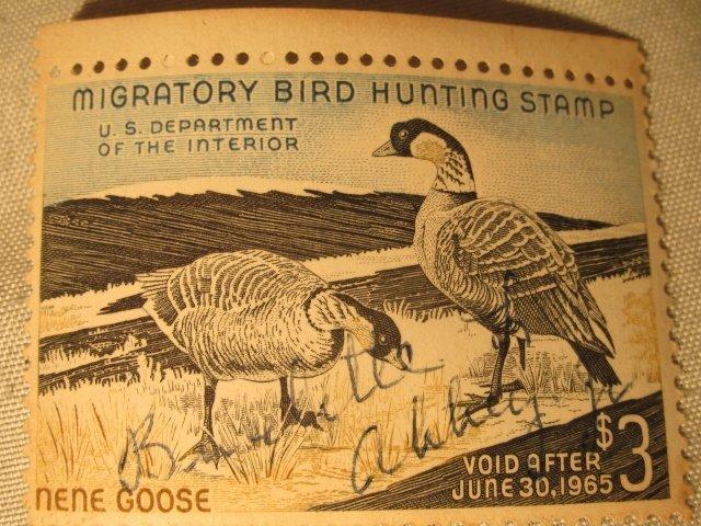 1965 Migratory Bird Hunting Stamp