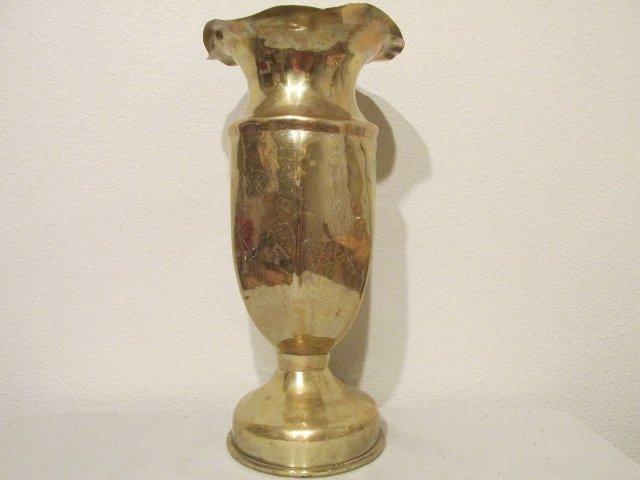 Ii trench art brass 105mm mortar shell vase 1945 ww ii trench art brass 105mm mortar shell vase 1945 reviewsmspy