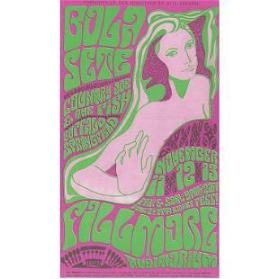 Bola Sete Buffalo Springfield 1966 Handbill