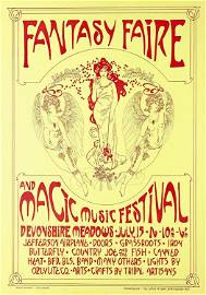 Fantasy Faire and Magic Music Festival 1967 Poster