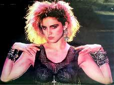 Madonna - Like a Virgin - 1984 Promotional Poster
