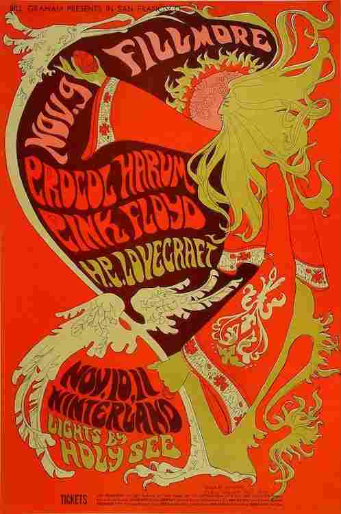 Pink Floyd - Procol Harum - 1967 Fillmore Concert