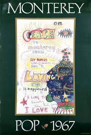 The Beatles - Monterey Pop Festival - Poster