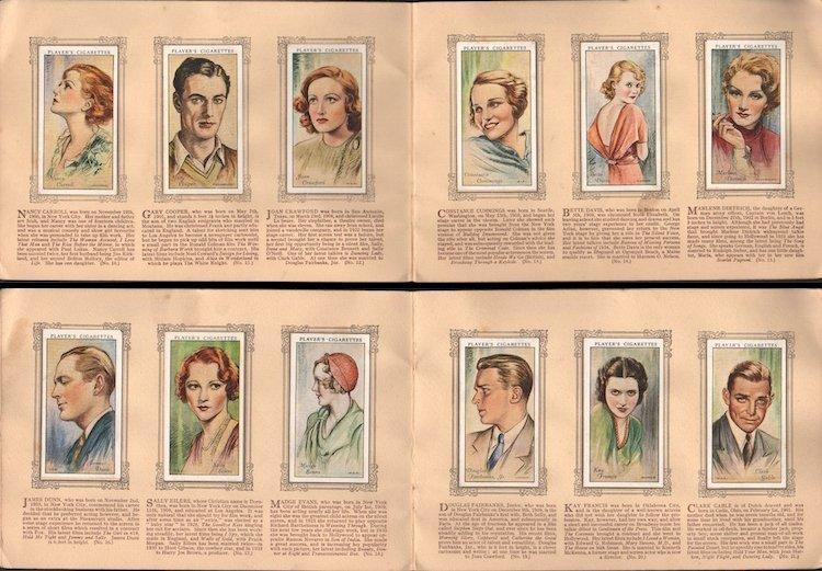 An Album of Film Stars - 1934 Tobacco Card Set - 3