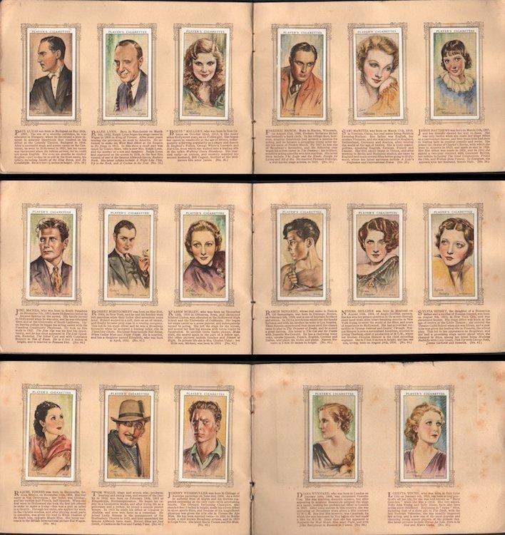 An Album of Film Stars - 1934 Tobacco Card Set - 5